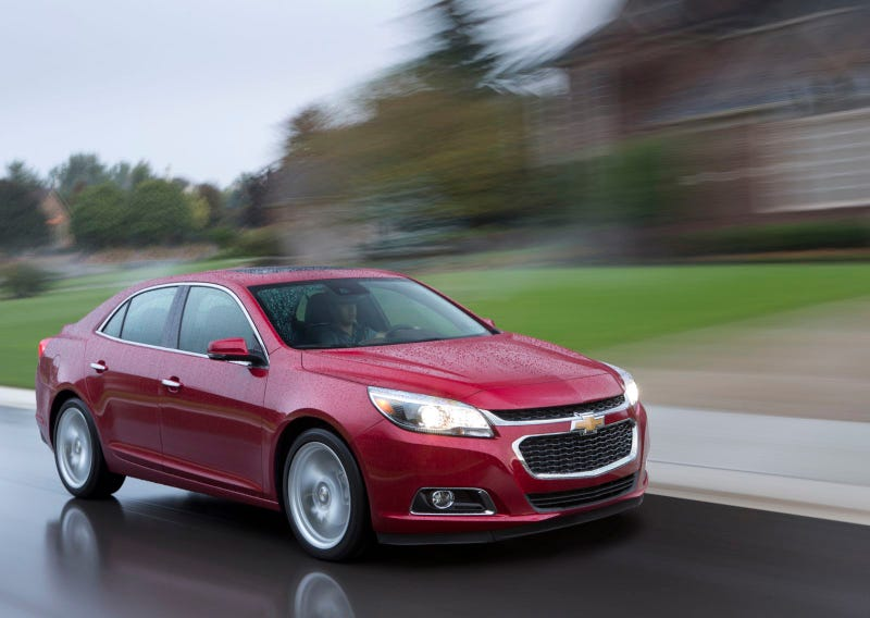 2014 Chevrolet Malibu Offers Hands-Free Texting
