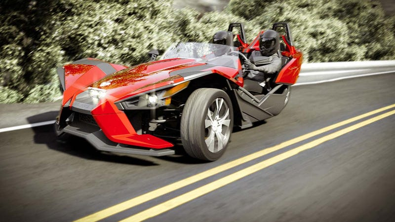 This car is the closest thing you will ever feel to be Batman and Robin