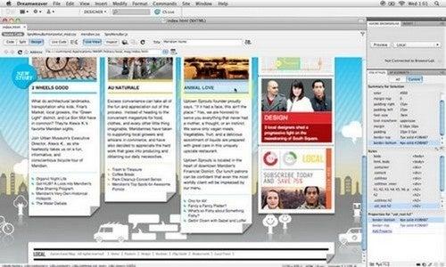 Best WYSIWYG Editor: Adobe Dreamweaver