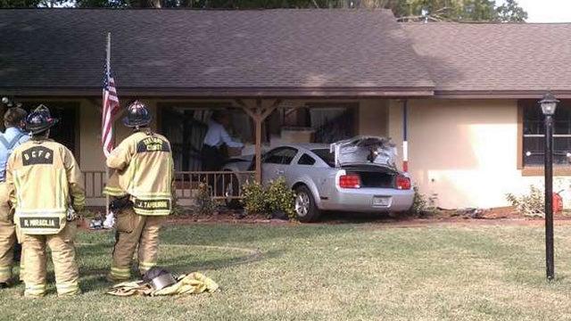 Florida Man Mistakes Neighbor Crashing Car Through His House For An Earthquake