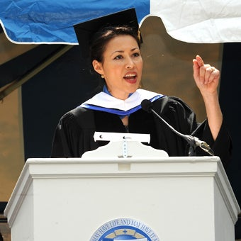 Ann Curry Has No Clue What College She Is Addressing