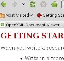 OpenXML Document Viewer Opens Office 2007 Files in Firefox
