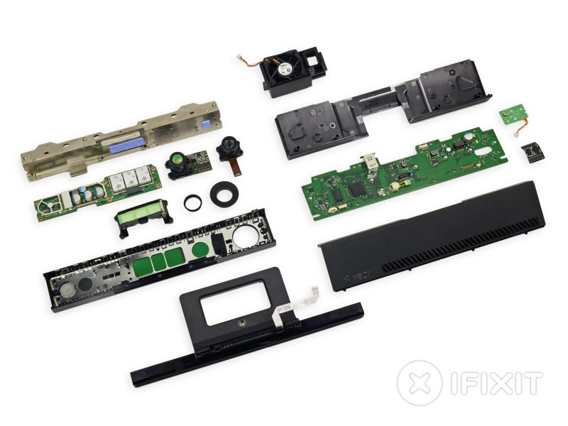 What The Inside of an Xbox One Kinect Looks Like