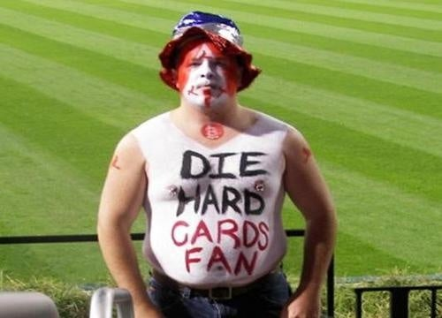 """Does """"Die Hard Cards Fan"""" Have To Spell It Out For You?"""
