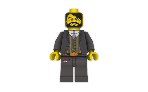 Red Dead Minifig