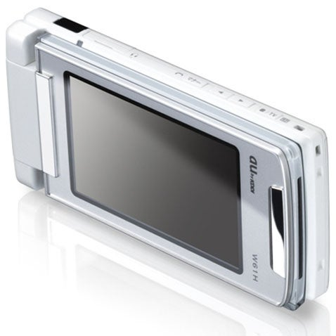 Hitachi W61H Cellphone Packs E-Ink Display on its Bum