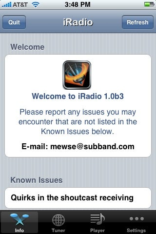iRadio Brings Streaming Radio to iPhone, YAY