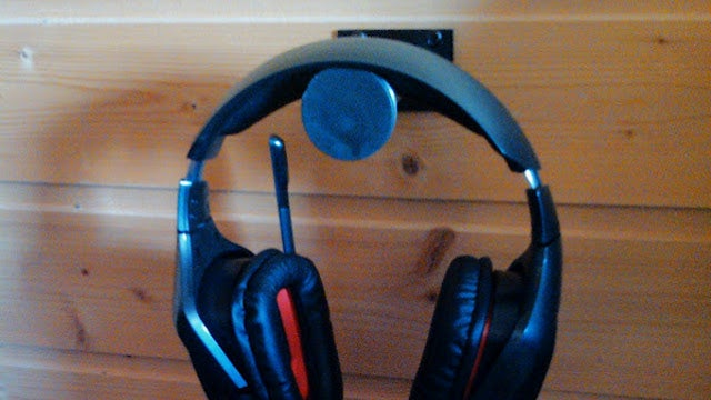 Repurpose an IKEA Bed Leg Into a Headphone Wall Mount