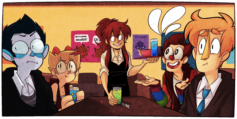 In This Webcomic, A Human Social Worker Must Help His Monster Clients