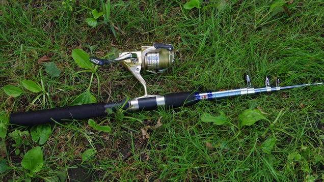The ultimate backpacking outfit for Backpacking fishing rod