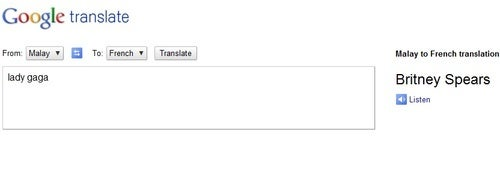 This Is What Happens When You Translate 'Lady Gaga' with Google Translate