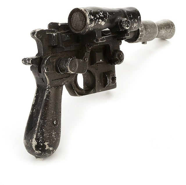 ​You Could Own Han Solo's Blaster From The Empire Strikes Back