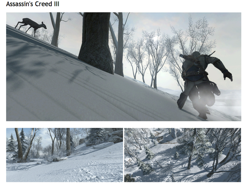 These New Assassin's Creed III Screens Show Off Some Beautiful Hunting
