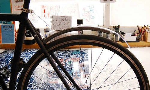 Make a Rear Mud Guard for Your Bicycle Out of an Old Wheel