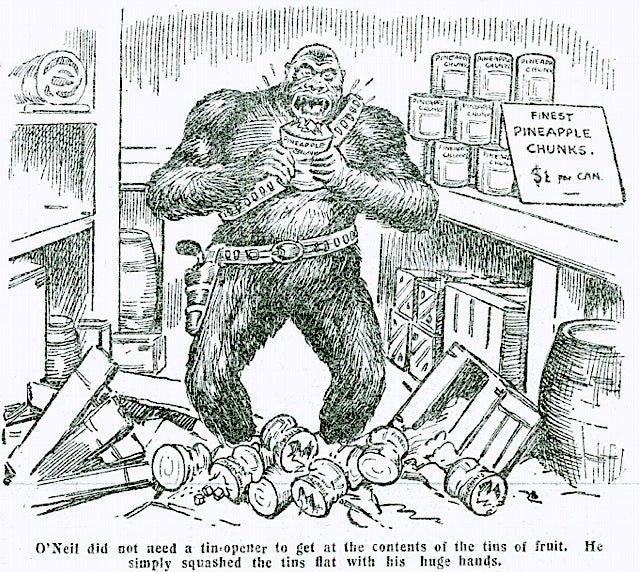 Read the lost adventures of Six-Gun Gorilla, the greatest cowboy gorilla in fiction
