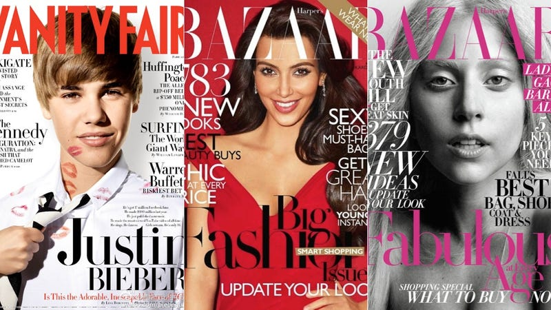 What A-List Faces Sold The Most Magazines In 2011?