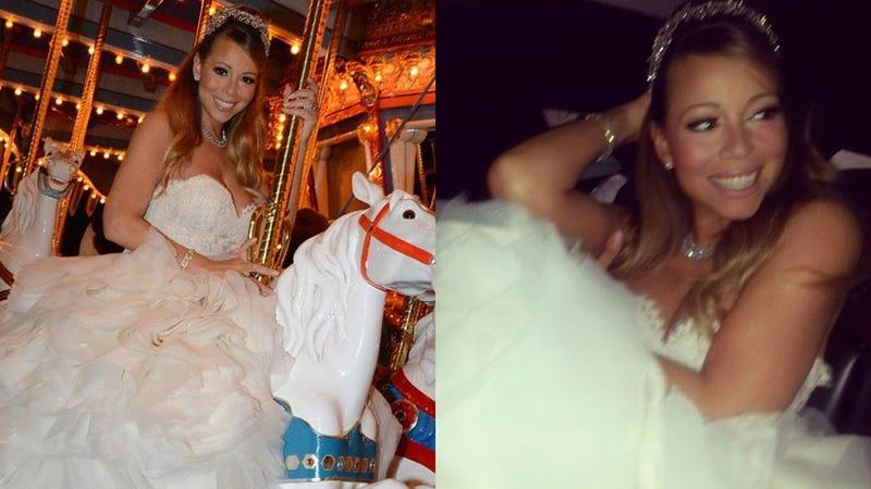Mariah Carey Renews Her Vows Again, Is Disney's Newest Princess