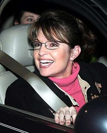 Palin Wins Heart and Mind of One New Yorker