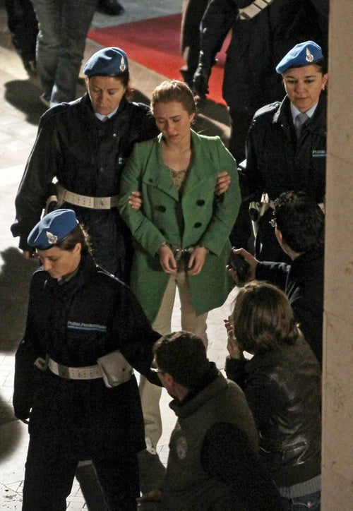Hayden Gets Handcuffed & Hauled Away