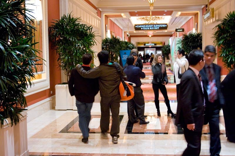 Gear and Bromance: Gizmodo's CES Experience in a Meta-Nutshell