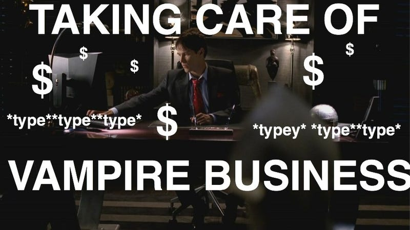 True Blood is taking care of business...VAMPIRE BUSINESS
