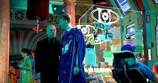 Terry Gilliam's The Zero Theorem Is a Grim Facebook Dystopia