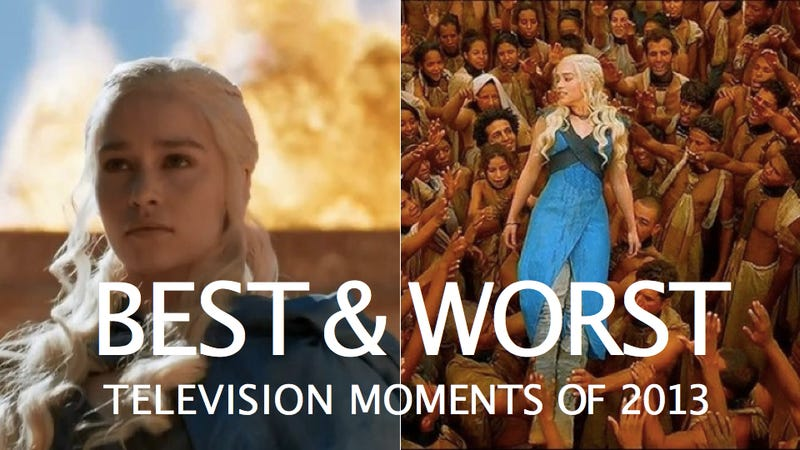 The Best and Worst Television Moments of 2013