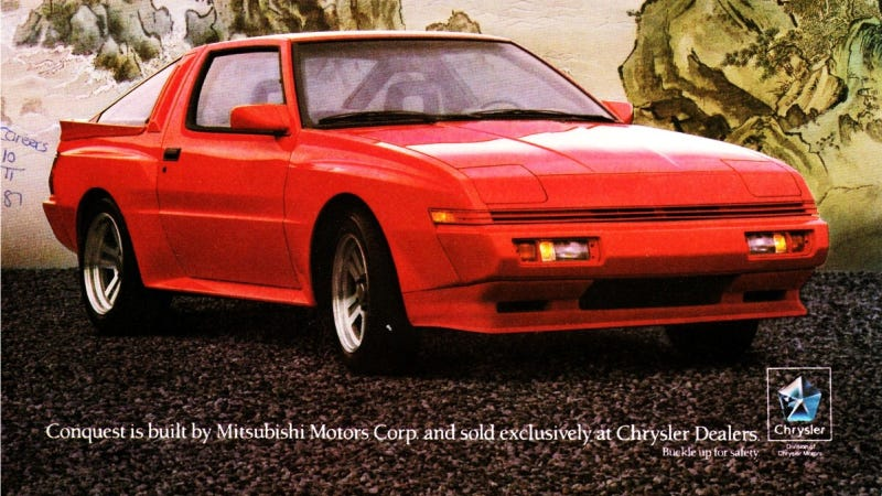 The Hot, Torrid, Turbocharged Romance Between Chrysler And Mitsubishi