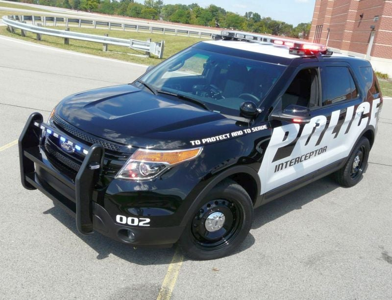Ford Police Interceptor Utility: Not Just For Robocop's Mom