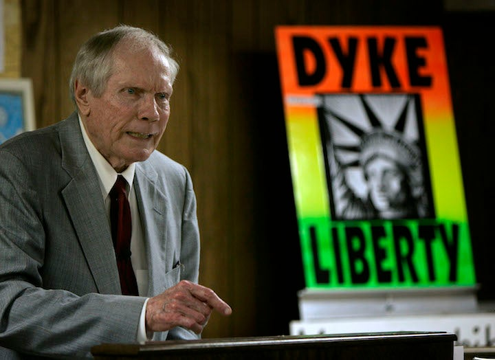 Ex-Westboro Baptist Church Leader Fred Phelps is Finally Dying
