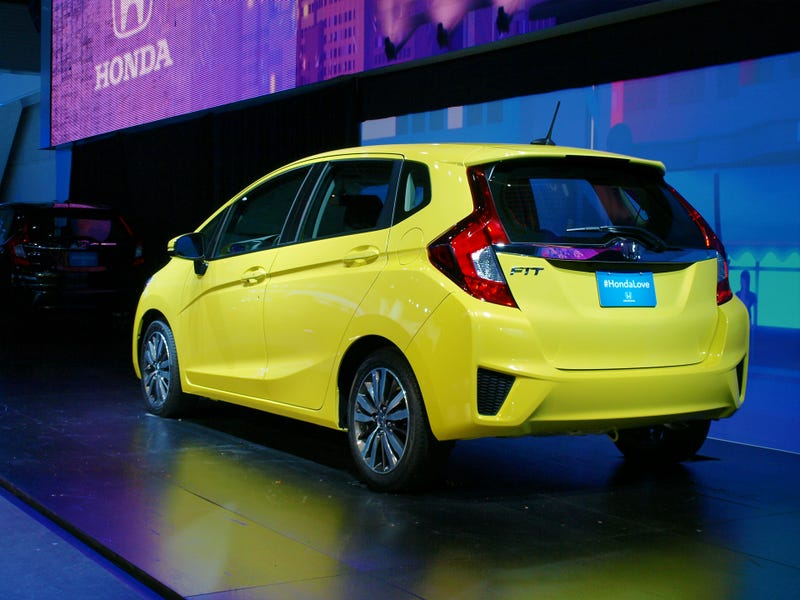 The 2015 Honda Fit Is How To Do A Hatchback Right