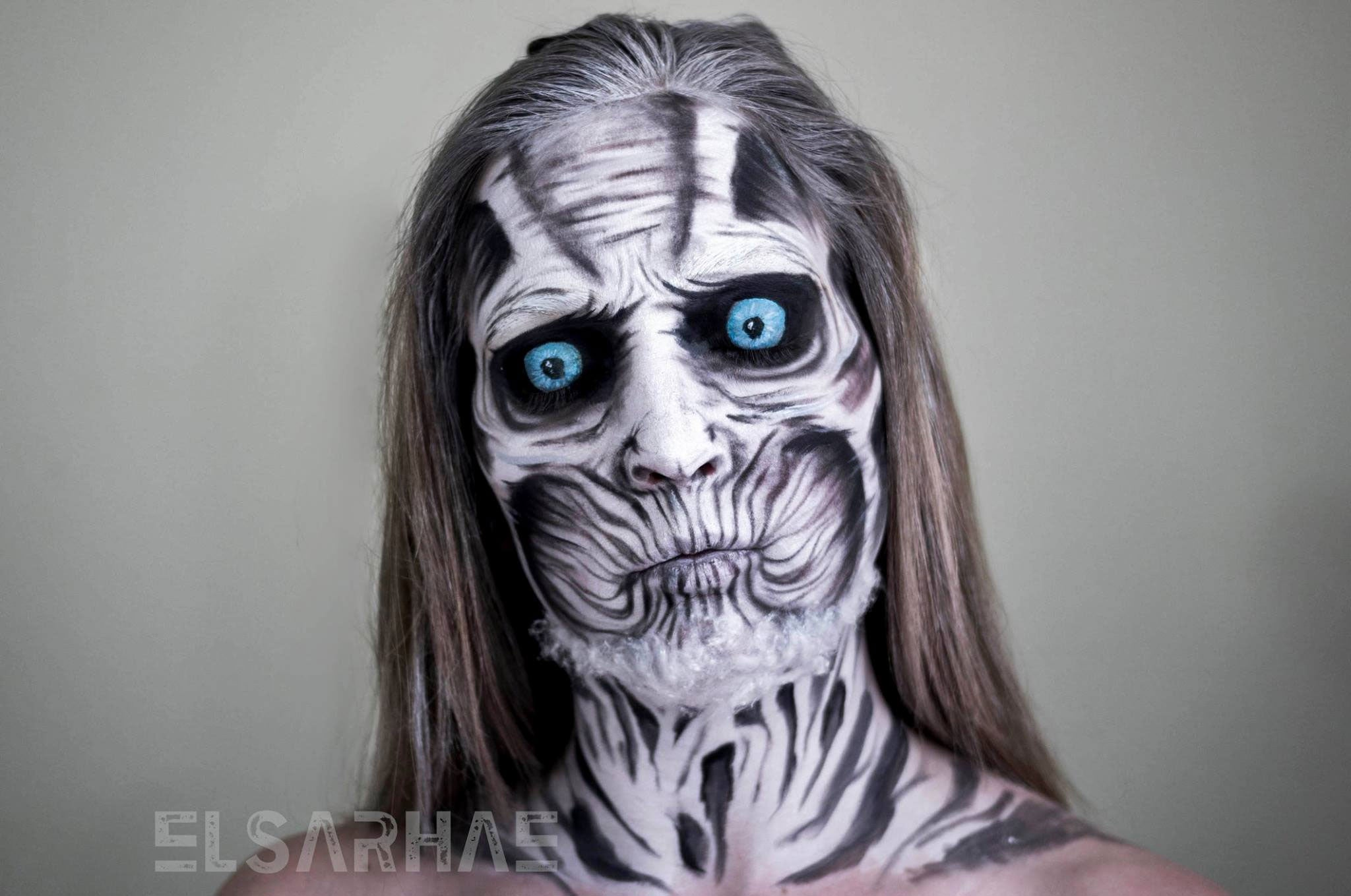 Human Transforms Into White Walker (With Creepy Timelapse)