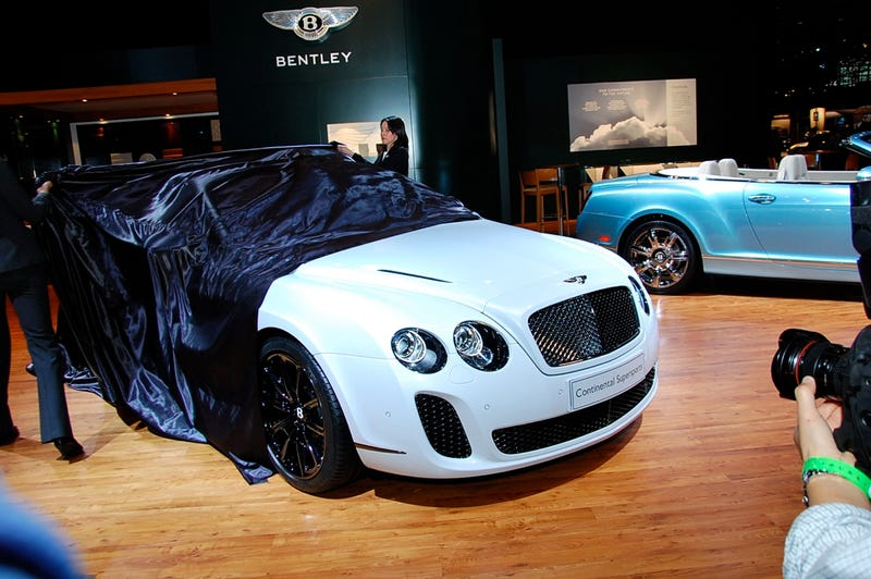 Bentley Continental Supersports: 204 MPH On E85