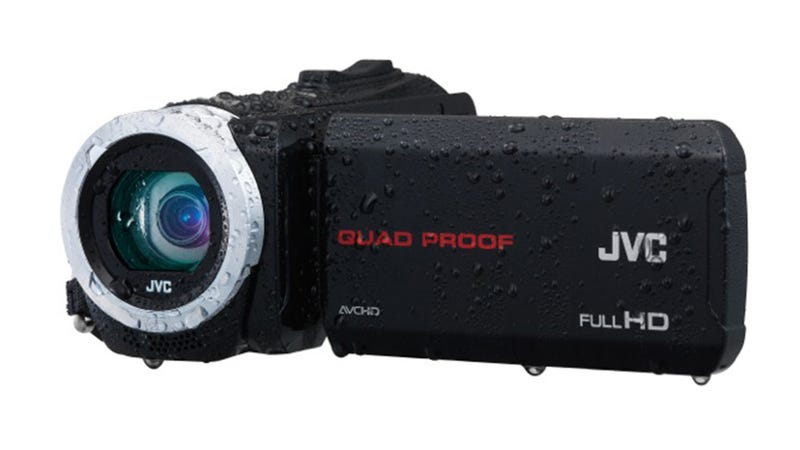 The New JVC Everio Brings Rugged Water-Proofiness to an Old Friend