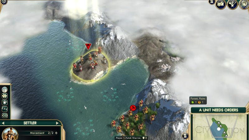 This Is Surely The Worst Possible Starting Position In Civilization V