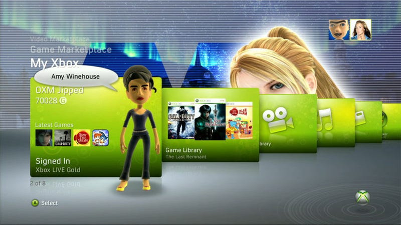 "Some Xbox 360 Themes Not A ""Beautiful"" As Promised With NXE"