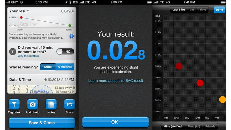 Booze-Tracking Bluetooth Breathalyzer Counts Down Your Return To Sobriety