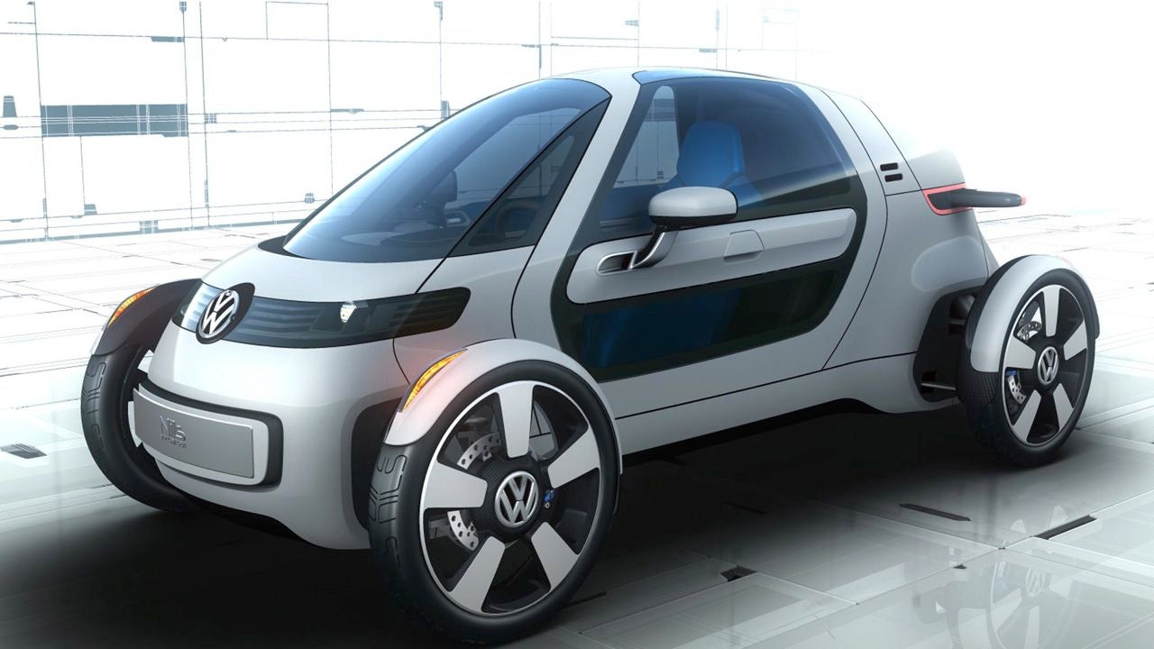 volkswagen nils a slow electric f1 car for commuters. Black Bedroom Furniture Sets. Home Design Ideas