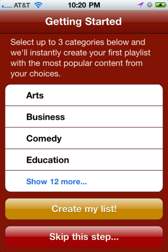 AudioPress Manages Your Podcasts, Internet Radio, and More