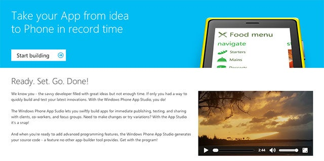 Windows Phone App Studio Makes App Creation as Easy as Drag and Drop