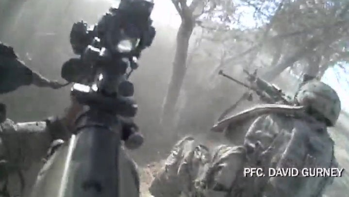 This is Real War, Viewed from the Call of Duty Camera Angle