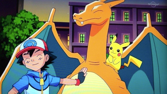 After Over 13 Years, Ash's Charizard Returns to the Pokémon Anime