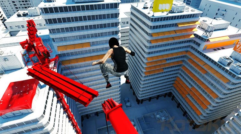 Mirrors Edge Gets A Level Editor (Of Sorts)