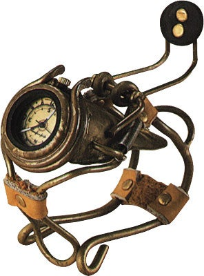 Japanese Steampunk Watches: Get Meta With Time