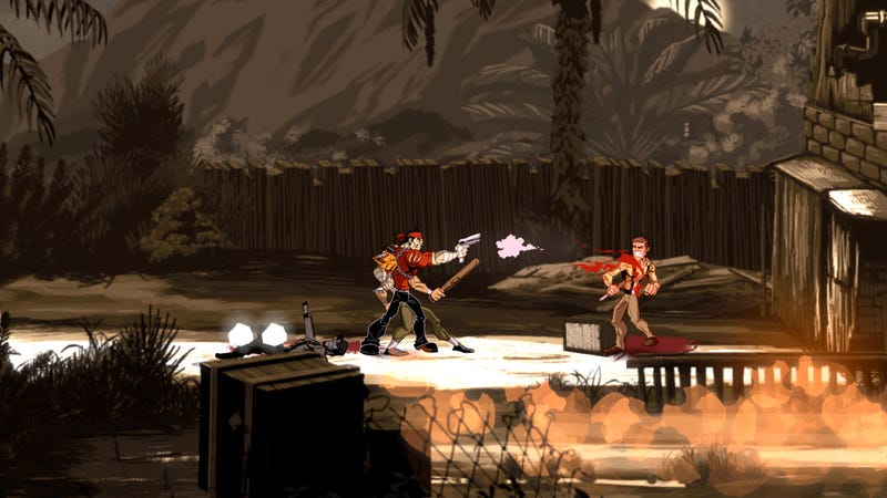 Bring A Friend Along for Shank 2's Brand of Shooting, Stabbing and Slicing