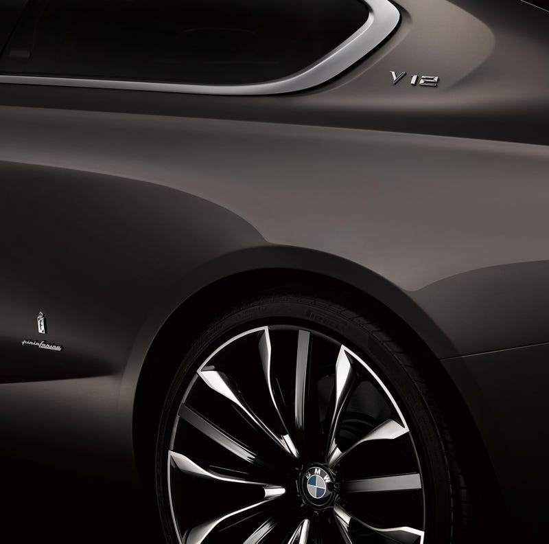 This Is (Some Of) The BMW Gran Lusso Coupé By Pininfarina
