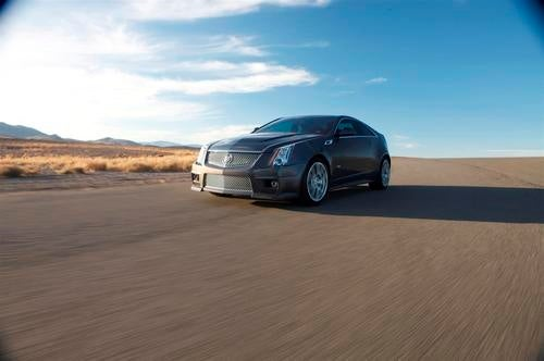 2011 Cadillac CTS-V Coupe: Press Photos