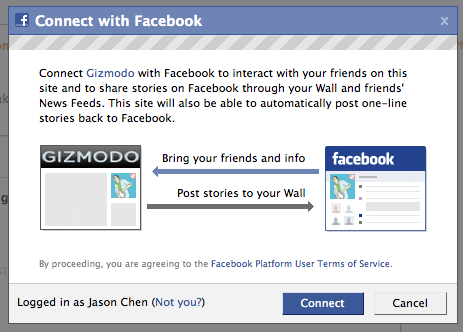 You Can Now Comment on Gizmodo With Your Facebook Account