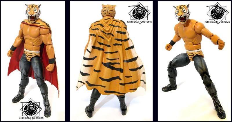 Tiger Mask Custom Action Figure For Sale