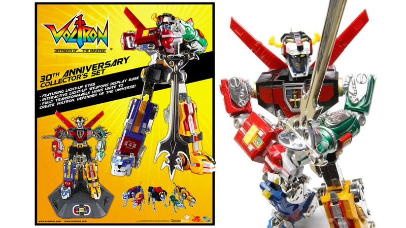 The 30th Anniversary Voltron is the Defender Of Childhood Nostalgia